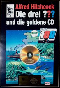 Die Goldene CD für 150.000 verkaufte Tonträger